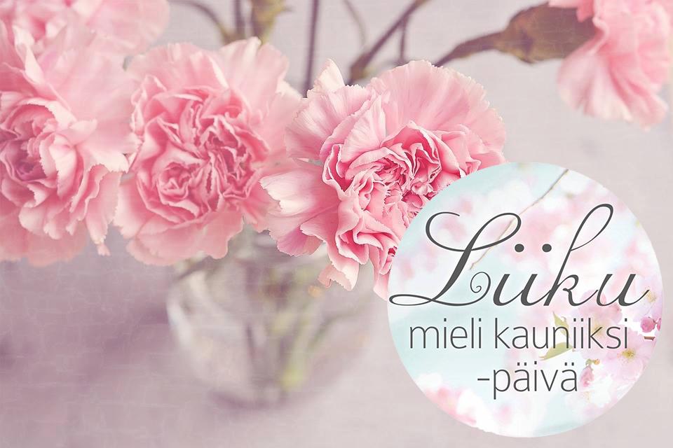 Liiku Mieli Kauniiksi-päivä la 4.5 klo 10.30-14.45